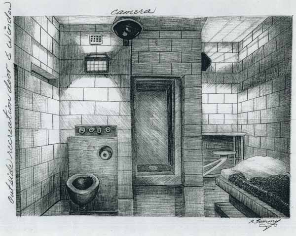 The View of the Front of Thomas Silverstein's Prison Cell